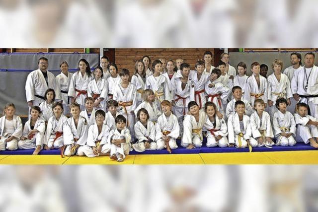 Zwei Tage lang Judo total