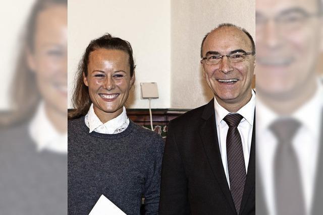 Preis der Burger-Stiftung für Kathinka Fischer