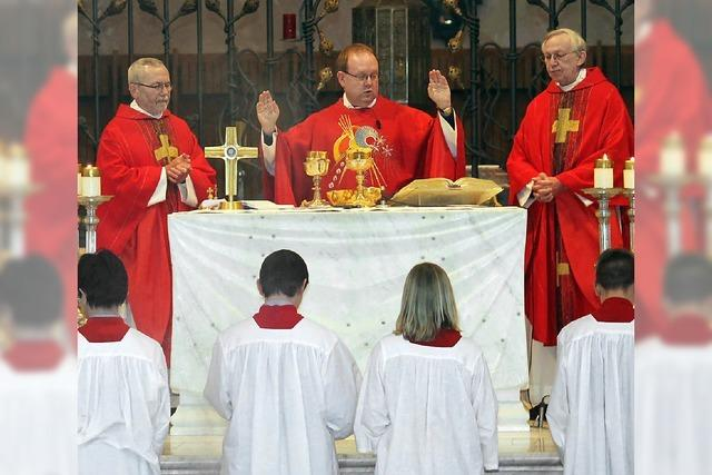 Der Heilige Blasius als Mittler zu Gott