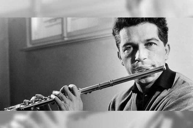 Aurèle Nicolet: Grandseigneur der Flöte