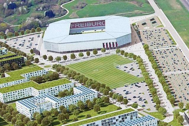 Stadt Freiburg erhält 16 Millionen Euro für die Stadion-Infrastruktur