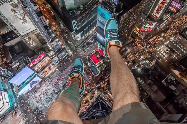 Rooftopper riskieren ihr Leben für ein Selfie
