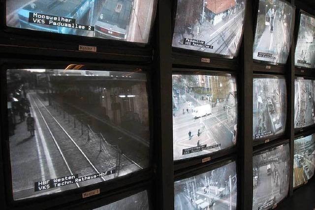 Filmemacherin nutzt die Welt der Überwachungskameras