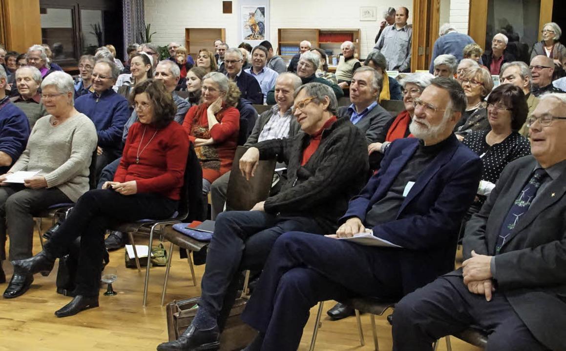 Zum 40. Jahrestag der Offenburger Vere...ein und Sänger Roland (Buki) Burkhart.    Foto: Ilona Hüge