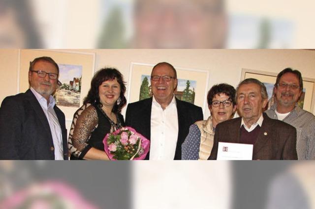 Walter Scheerer ist Ehrensänger