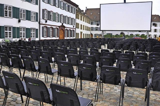 Kino auf dem Münsterplatz ist gerettet
