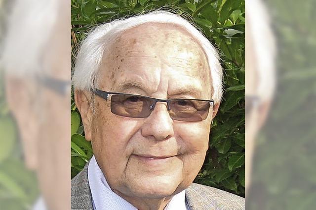 Ottenheim trauert um Pfarrer Rolf Lauter