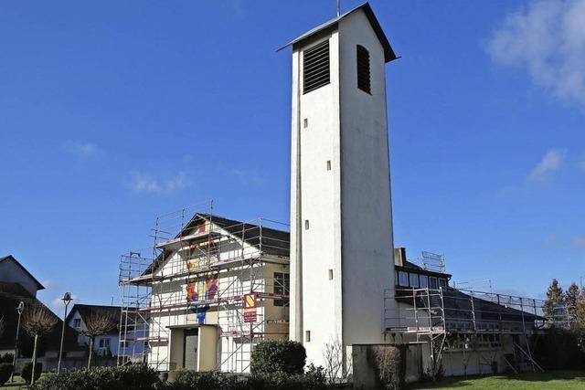 Neues Dach für die Kirche