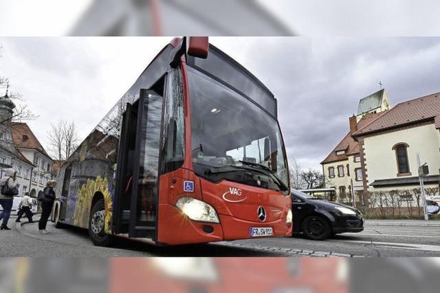 Bei der Freiburger Buslinie 14 wird nachgebessert