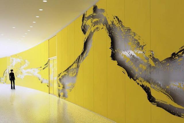 47 Meter Kunst im Bürgerservice