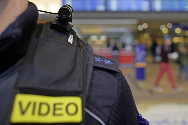 Polizei testet Körperkameras unter anderem in Freiburg