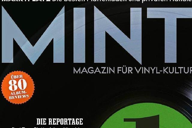 Für Plattenliebhaber: Die Musikzeitschrift Mint