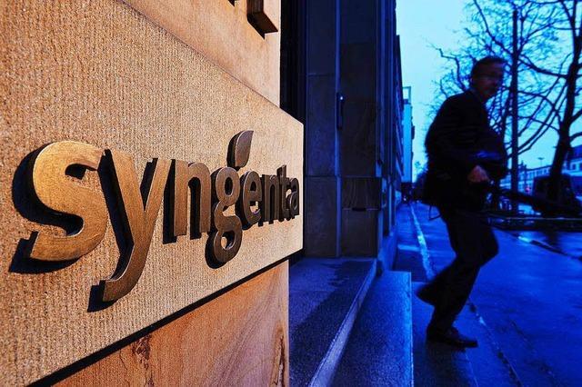 Chinesen wollen für Basler Agrarchemiekonzern Syngenta 43 Milliarden Dollar zahlen