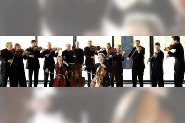 Die Berliner Barock-Solisten spielen in Freiburg-Tiengen