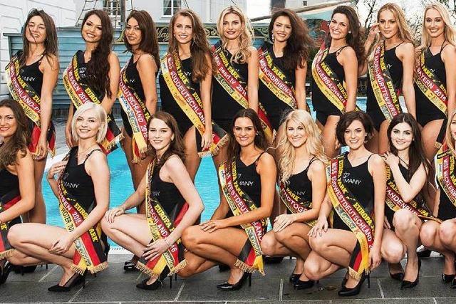 Die Miss Germany-Kandidatinnen bereiten sich auf Fuerteventura vor