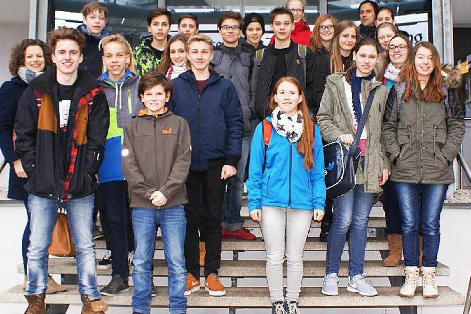 Klasse 9a, Heimschule St. Landolin, Ettenheim (Foto: C. Kotulla)