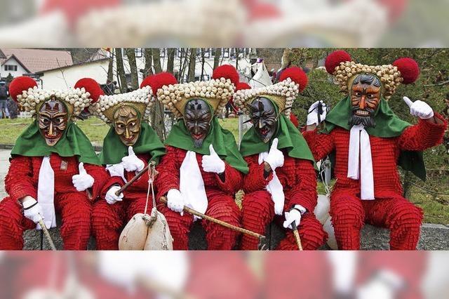 Traditionsreiche Umzüge