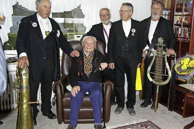 Glückwünsche zum 101. Geburtstag