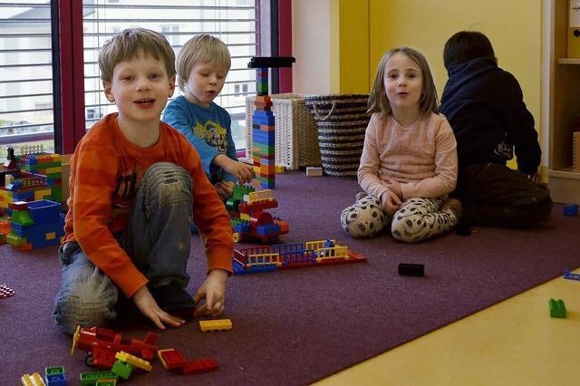 Im Kinderhaus ist Trubel Alltag