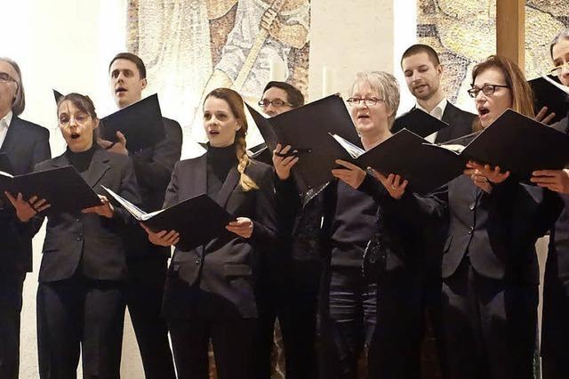 Zürcher Vokalisten: Chorklang von schöner Klarheit