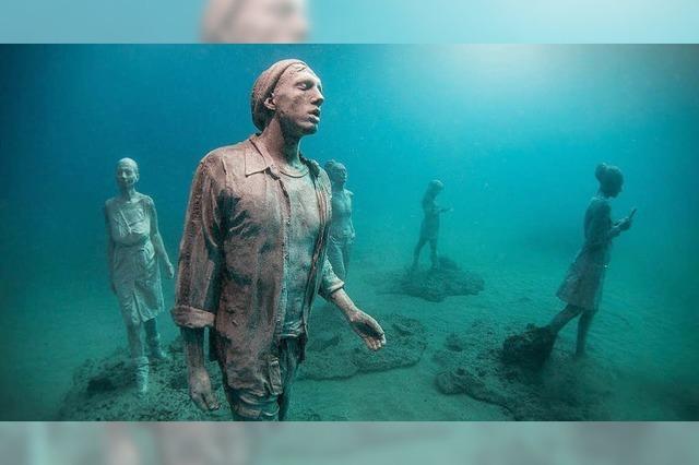 Ein Unterwassermuseum entsteht