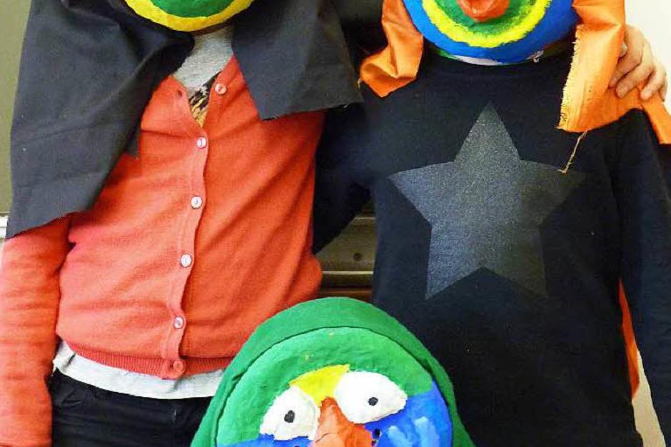 Ob Bär, Vogel, Hexe oder Fantasiegeschöpf: Jede Maske ist einmalig. Und einmalig schön. (Foto: Valerie Scherer)