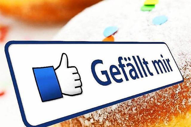 Die Badische Zeitung feiert 50.000 Facebook-Fans mit Gratis-Berlinern und