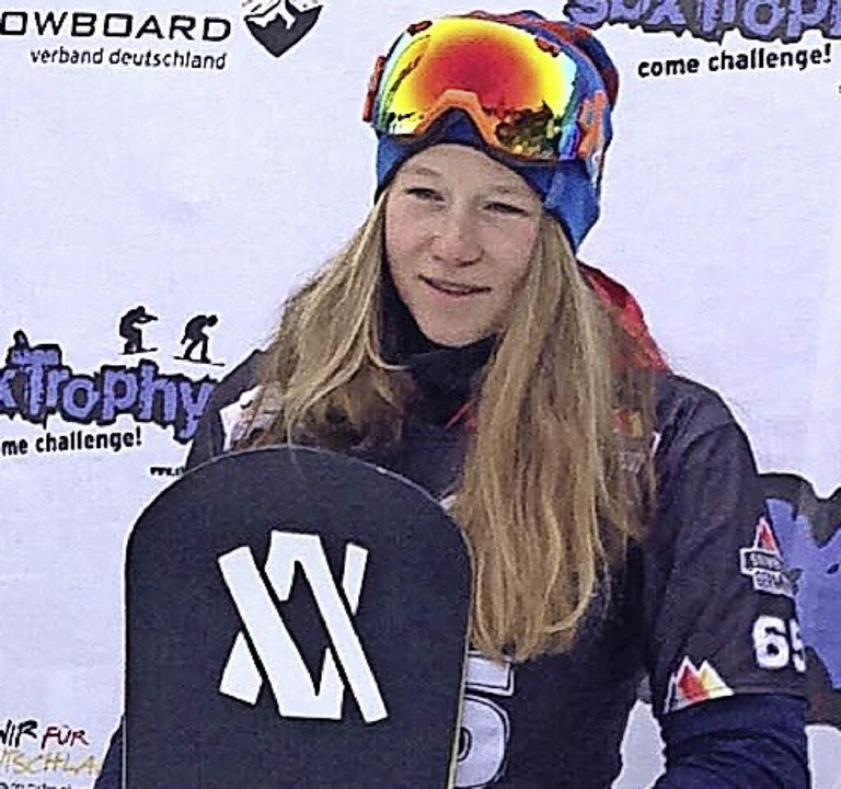Jana Fischer, Snowboardcrosserin des S...gendspielen in Lillehammer (Norwegen).  | Foto: zvg