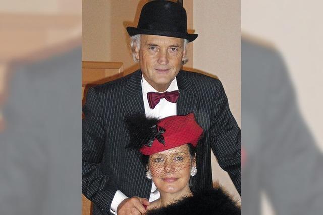 Petra Seitz und Martin Lunz in Badenweiler