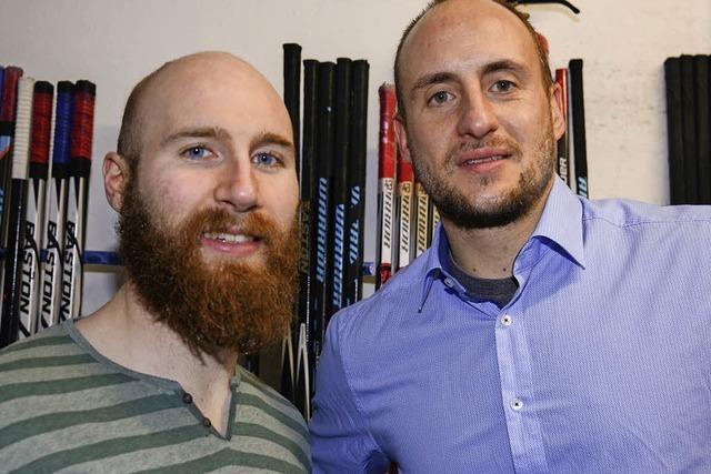 Philip Rießle und Dennis Meyer: Im Nebenjob Eishockeyspieler