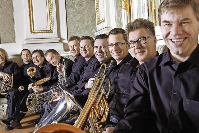 Top-Blechbläser-Ensemble German Brass hat Werke von Bach auf CD eingespielt
