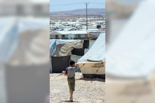 Syriens Nachbarn am Ende der Kraft