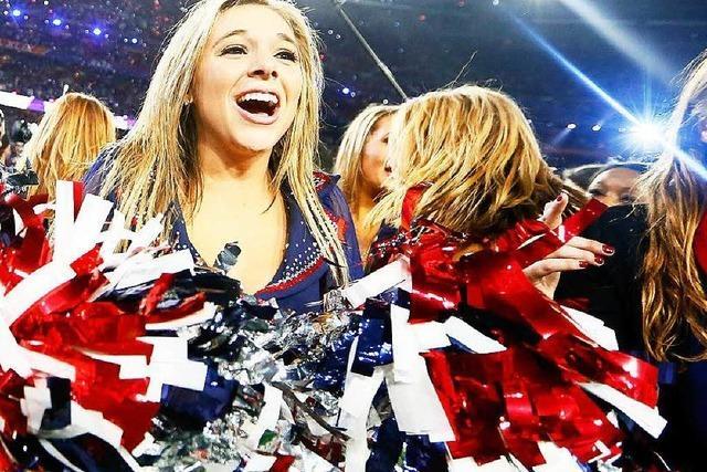 Sport trifft Show: Finale des Super Bowls in den USA