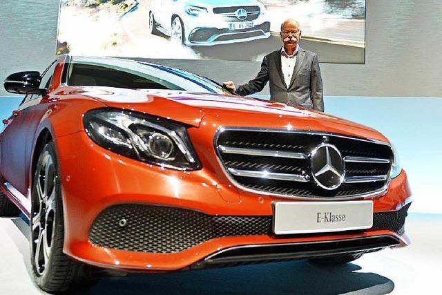 Daimler: Rekorde bei Absatz, Umsatz und Gewinn