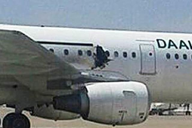 Explosion in Airbus: Behörden gehen von Bombe aus