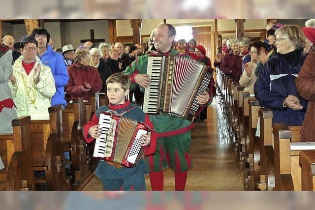 Gottesdienste mit heimischen Zünften in Titisee, Breitnau, Hinterzarten