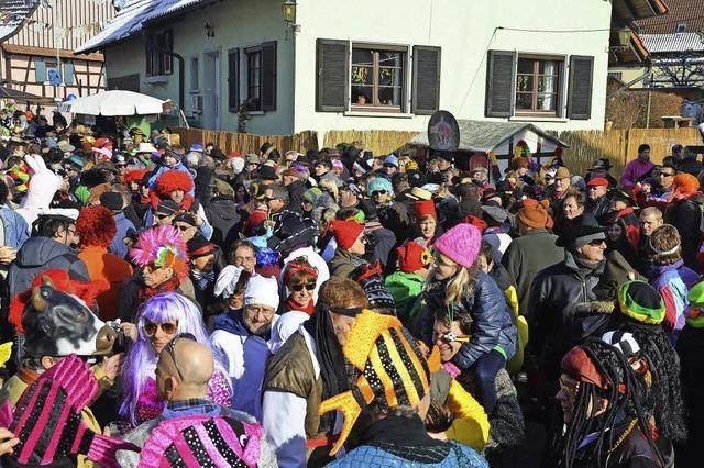 Johrmärkt am Fasentsonntag in Ortenberg-Käfersberg