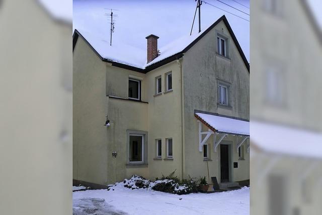 Plan fürs Gemeindehaus