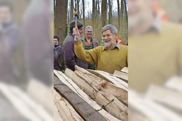 21 Ster Holz waren im Nu weg