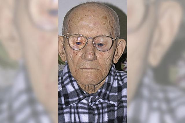 Heinrich Kraus: Der älteste Laufenburger wird 103 Jahre alt
