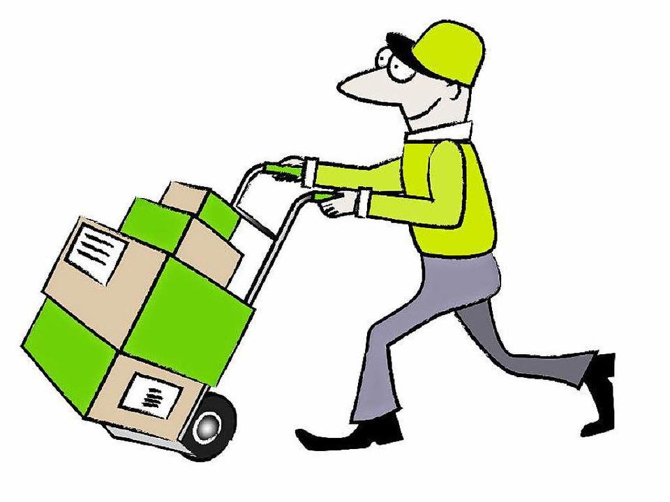 Wer online bestellt, wird öfter vom Postboten besucht.  | Foto: Rita Reiser