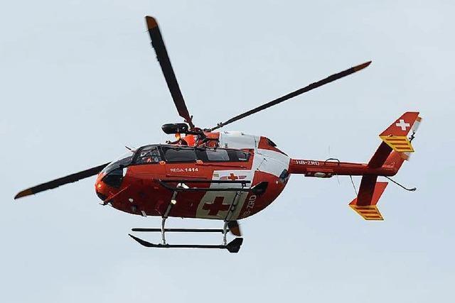 Zwei Kinder rutschen bei Gutach ab – schwer verletzt