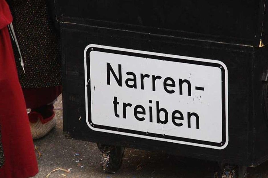 Deutlich mehr Narren als Einwohner hatte Wettelbrunn beim 30. Wettelbrunner Umzug. Und alle waren bestens gelaunt. (Foto: Hans Jürgen Kugler)