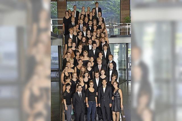 Musiker der Katholischen Hochschulgemeinde Freiburg in Hinterzarten