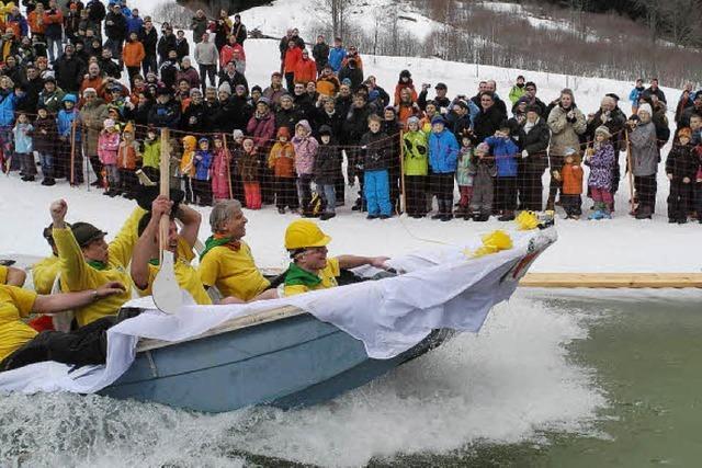 Die Ski-Zunft Bernau veranstaltet das Pfütze-Fäscht