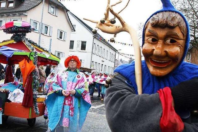 Fotos: Fasentumzug in Lahr-Reichenbach