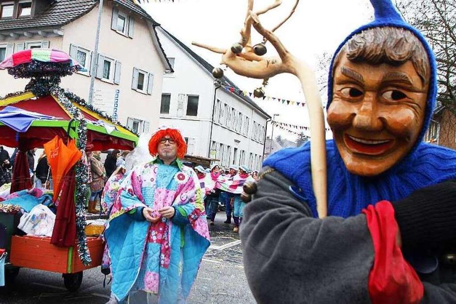 Umzug im Lahrer Ortsteil Reichenbach (Foto: Heidi Foessel)