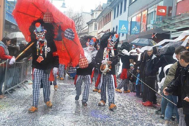 Fotos: Fasnachtsumzug in Lörrach