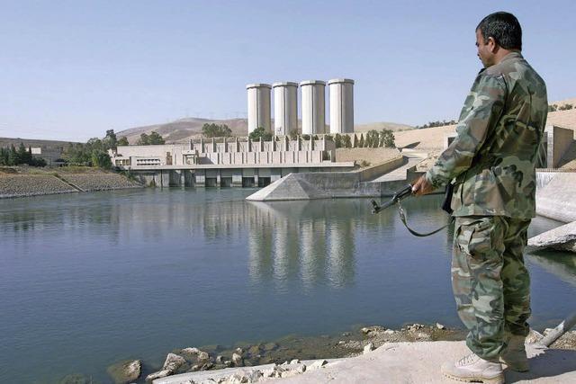 Was, wenn der Damm bei Mossul bricht?