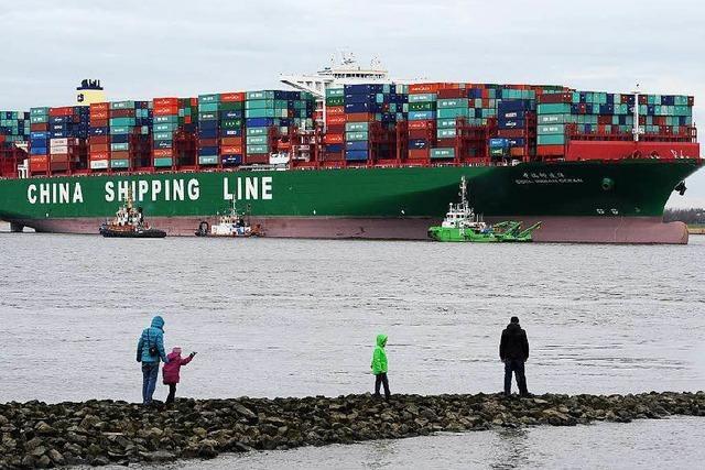Weil die Frachter größer werden, steigt die Unfallgefahr